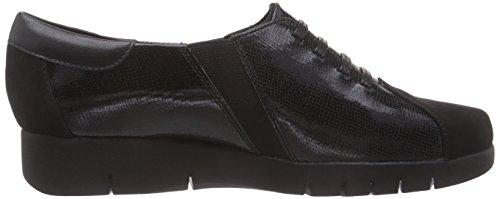 Clarks Daelyn Vista - Zapatillas de casa de cuero mujer Negro (Black Leather)