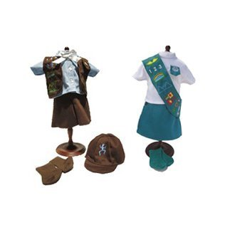 Brownie and Junior Scout Uniforms Bundle | Fits 18