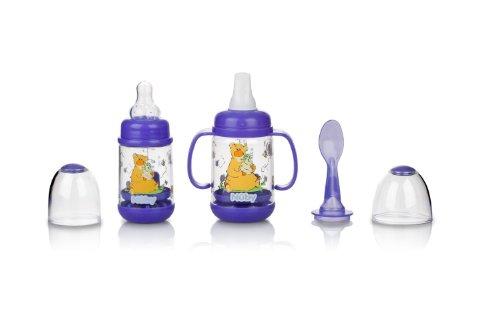 Nuby Nurtur Feeder Infant PURPLE