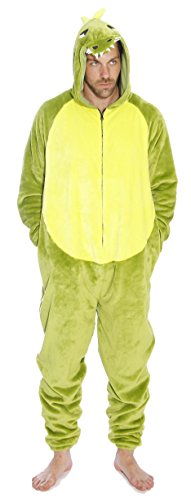 M6405-L-Dragon #FollowMe Men's Adult Onesie / Men's Adult Pajamas
