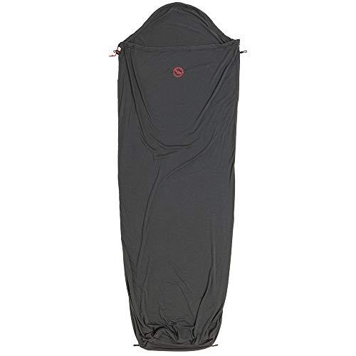Big Agnes Wool Sleeping Bag Liner, Gray, 82