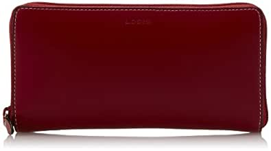 Lodis Audrey Iris Zip Wallet,Red,One Size