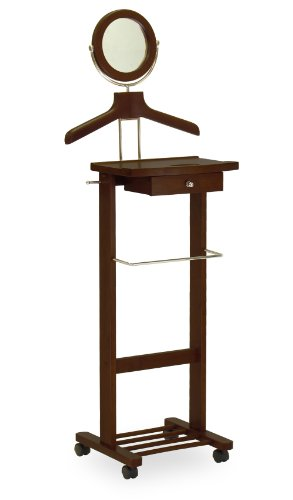 Wood Valet (Winsome Wood Valet Stand, Walnut)