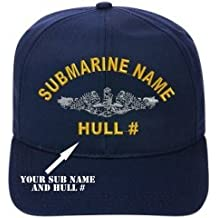 USS CHARR SS-328 DIRECT EMBROIDERED SUBMARINE CAP