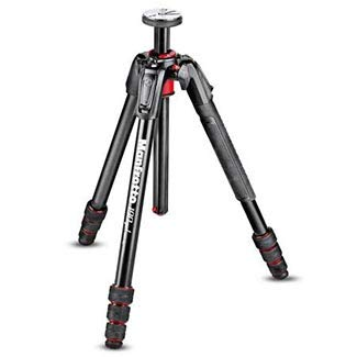 Manfrotto 190 Go! M-Series Carbon Fiber 4-Section Tripod (MT190GOC4US) by Manfrotto