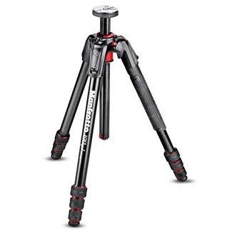 Manfrotto 190 Go Aluminium 4-Section Camera Tripod with Twist Locks ()