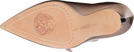 Vince Camuto Women's Neddy Strappy Heel Pumps Shoes Ash Bronze Mirror Metallic 11 M US