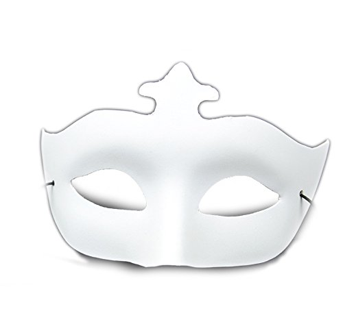 Mask It 71019 Designer Half Mask with Elastic -