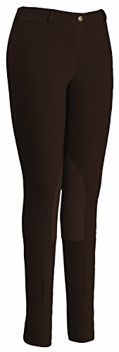 Low Rise Breech (TuffRider Women's Cotton Lowrise Pull-On Breeches, Taupe, 24)