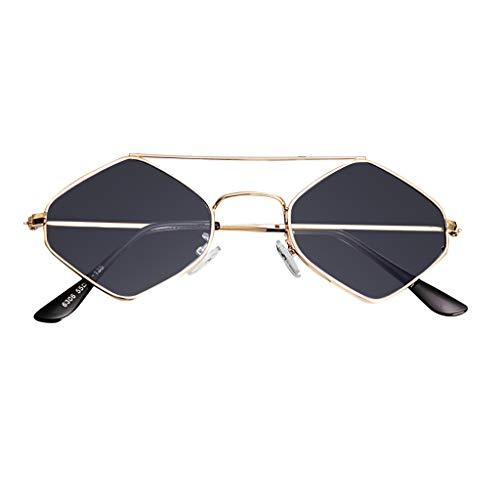 iNoDoZ Sunglasses for Women,Retro Vintage Narrow Cat Eye Clout G3 4gles Plastic Frame