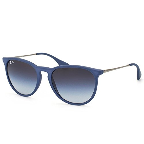 RAY BAN Rb4171 6002/8g Women Erika Sunglasses Blue Gray - Ray Gray Gradient Ban Blue