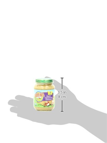 Earth's Best Organic Stage 3, Apple, Cinnamon & Oatmeal, 6 Ounce Jar (Pack of 12) by Earth's Best (Image #6)