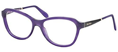 Miu Miu MU01NV Eyeglasses-TFI/1O1 - Aviator Miu Miu