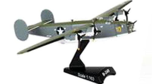 Postage Stamp Planes - Daron Postage Stamp B-24D Liberator PB4Y Sub Hunter U.S. Navy Vehicle (1/163 Scale)
