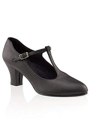 Capezio Women's Jr. Footlight T-Strap Dance Shoe