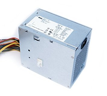 (Genuine Dell M1J3H 525w Watt Power Supply PSU For Precision T3400 Systems Compatible Part Numbers: M1J3H, 7JVXX, D525AF-01)