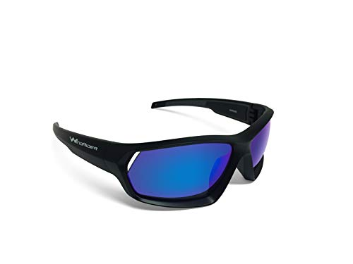 WindRider Polarized Floating Sunglasses for Men Designed for Fishing, Sailing, All Water Sports. Lightweight, Comfortable, 100% UV ()