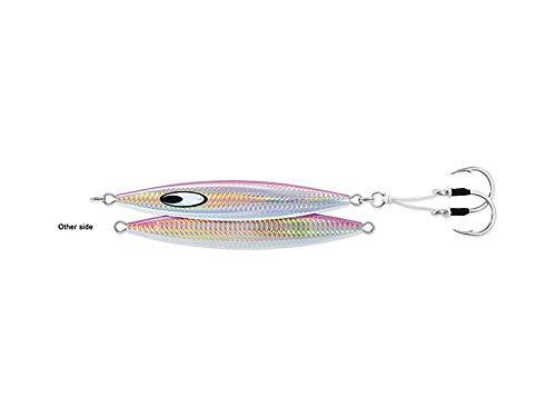 Daiwa Jig Saltwater SA-SK200G01 Saltiga SLK Metaljig, 7oz, 9/0 Assist Hooks, Pink