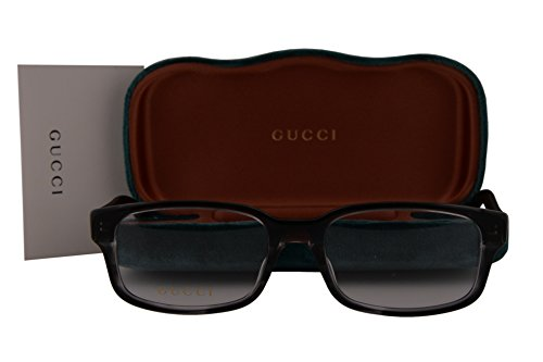 Gucci GG0012O Eyeglasses 54-18-145 Gray 003 GG - 2017 Gucci Glasses New