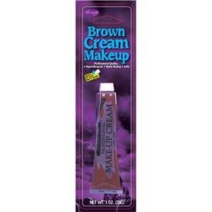 Fun World Women's Brown Makeup Cream, Multi -