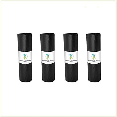 VIRSUS Sacchi Neri per Spazzatura Ultra Resistenti 70x110 4kg Alto Spessore Circa 44 Sacchi Condominiali