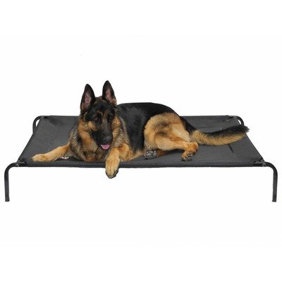 """Go Pet Club PC-42 Elevated Cooling Pet Cot Bed, 46.5 x 28 x 7"""""""
