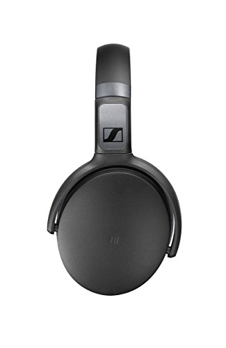 723ec32dca1 Sennheiser HD 4.50 Bluetooth Wireless Headphones with Active Noise  Cancellation, Black and Silver(HD 4.50 BTNC)