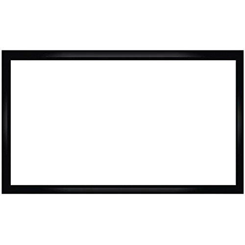 Antra PSF-92JA Fixed Frame Projector Projection Screen (Matt White PVC) for Home Theatre Business Presentation 4K/8K 3D HD Compatible (92 Inches Diaganal 16: 9 ()