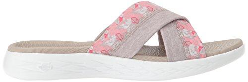 Skechers taupe Plataforma Sandalias Para Mujer De 15306 Beige rq0nx1r
