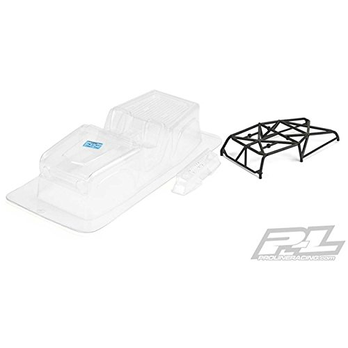 (Pro-Line 3488-11 1966 Ford Bronco Clear Body with Ridge-Line Trail Cage for Scx1)