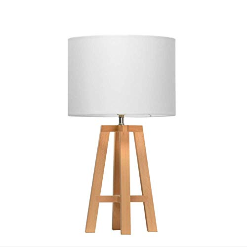 AIMIXU Lámpara de Mesa LED Moderna y Minimalista Europea Lámpara ...
