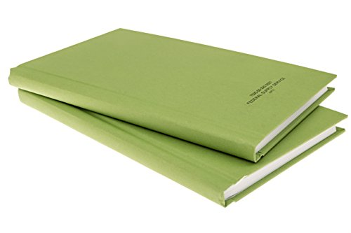 DIY Indispensables US Military Log Record Books (2 Pack) 5-1/4 x 8 Inch 96 Sheets with Rugged Sewn Case Binding Blue Line College Ruled Notebook NSN 7530-00-222-3521 Made in USA from DIY Indispensables