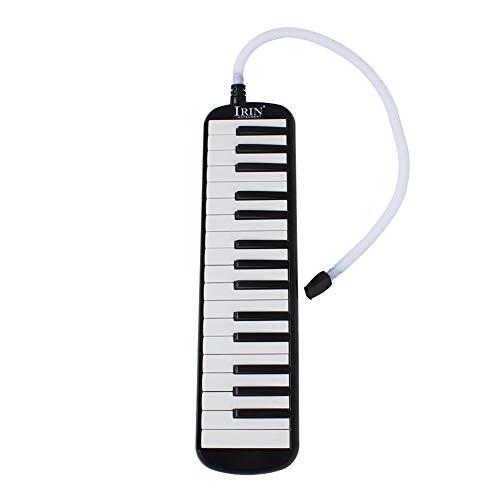 [해외]RaiFu 건반 하 모니카 32 키 멜로디 선택 수납 케이스와 키보드 악기 블랙 / RaiFu Keyboard Harmonica 32 Key Melody-On With Storage Case Keyboard Instrument Black