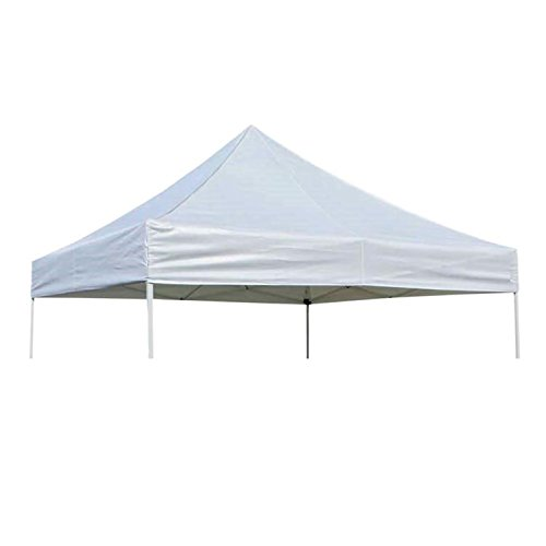 OPEN BOX - 10 x 10 Pop-Up Replacement Canopy Top Cover - White - 600 Denier