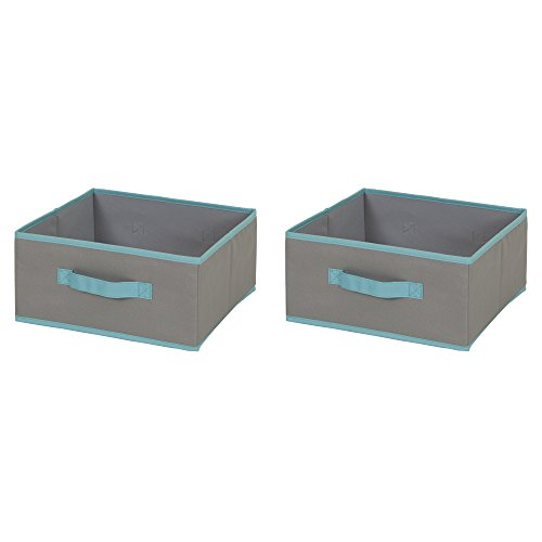 South Shore Fabric Storage Turquoise
