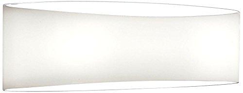 Holtkotter White Sconce - Holtkoetter White Wrap 13 1/2