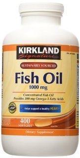 1000 mg fish oil - 2