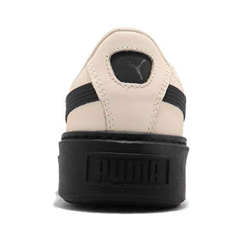 Sn23eakers Wn's Bianco Platform 41 Bianco Basket 04 Nero Scallop Puma 366723 UqfIdq
