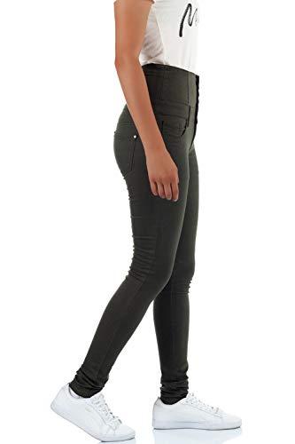 malucas Skinny Kaki Femme Jeans malucas Jeans 5xw0q6vq