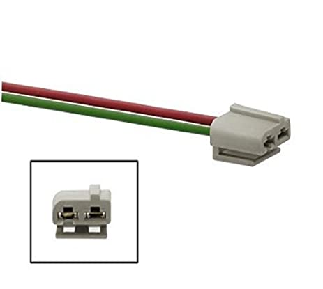 Amazon Com Dual Pigtail Wire Harness Connector Gm Hei Coil In Cap - Wiring Diagram