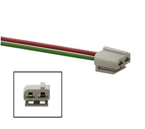 Dual Pigtail Wire Harness Connector GM HEI Coil In Cap Distributor 170072 ()