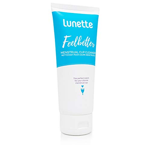 Lunette Feelbetter Menstrual Cup Cleanser 3.4 fl oz - Perfect Match for Your Silicone Menstrual Cup - Vegan, Natural, No - Cup Wash Menstrual