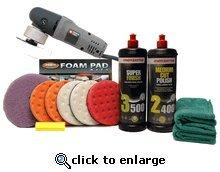 Menzerna Porter Cable XP Ceramic 5.5 Inch Polishing Pad Kit