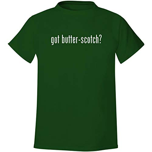 got butter-scotch? - Men's Soft & Comfortable T-Shirt, Forest, Small (Forest Lake Christmas Market Square)