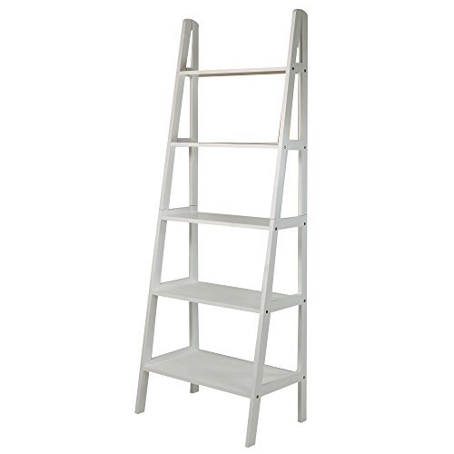 Casual Home 176-51 5-Shelf Ladder Bookcase
