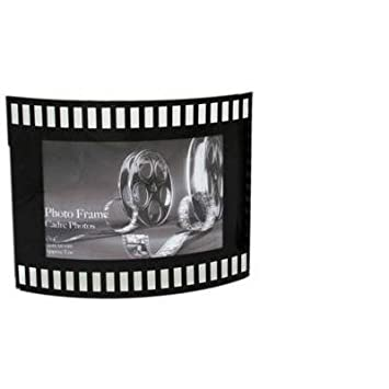 Celluloid Film Roll Curved Photo Frame 4X6 Landscape: Amazon.co.uk ...