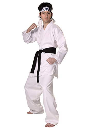 Karate Kid Costumes (Authentic Karate Kid Daniel San Costume Medium)