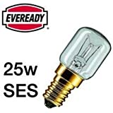 Eveready 10x Eveready 25W Pygmy Bulb Appliance Lamp SES(E14) -