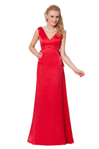 de vestido de Encuadre entero Gorgeous Rojo damas honor formal de noche SEXYHER de cuerpo EDJ1600 S0zXaUWUnx