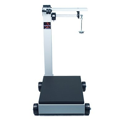 Detecto 854F100PK Portable Mechanical Floor Scales, 1,000 lb. / 500kg Capacity, 19'' x 28'' by Detecto